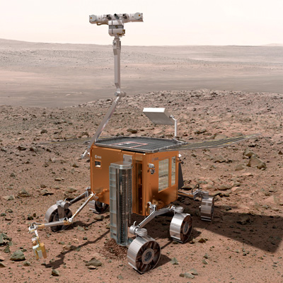 ESA-Exomars rover phase B1 concept L
