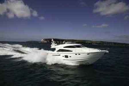 The first Squadron 55 was one of Fairline's most successful motor yachts ...