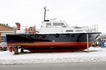 Type of vessel ex pilot boat currently registered as cargo boat and