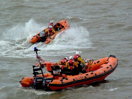 WestonSupermare-Both Lifeboats