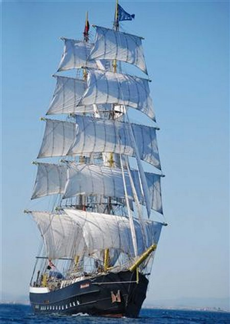 the clipper ships the synonymous of fast sailing in the 19th century