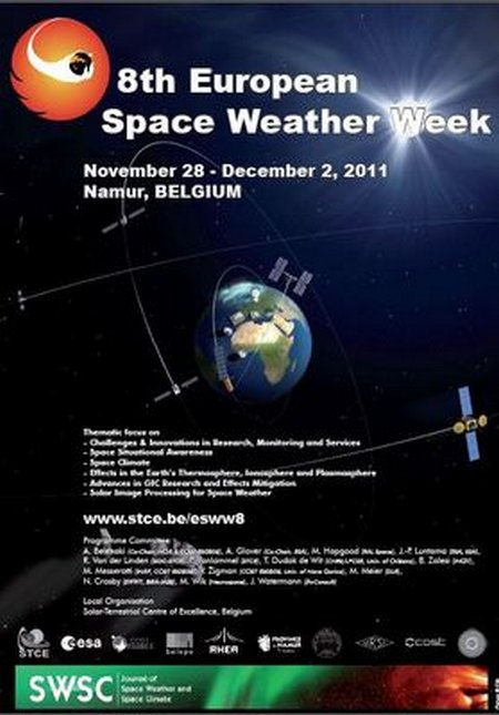 8th European Space Weather Week,1