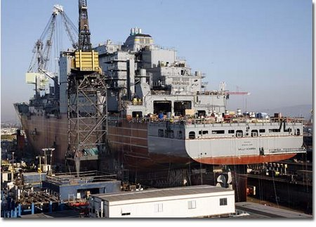 USNS Cesar Chavez (T-AKE 14) to be Christened and Launched