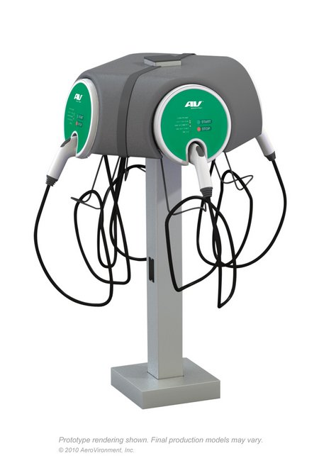 AV EVSE-RSQuadcharger