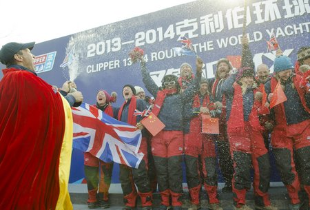 GREAT Britain on stage in Qingdao