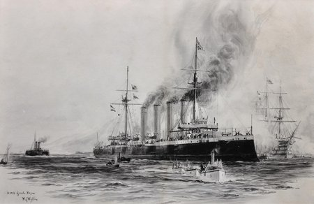 HMS Good Hope in art