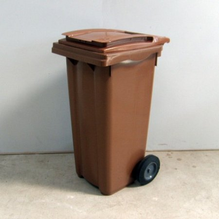 120 litre wheelie bin brown-500x500