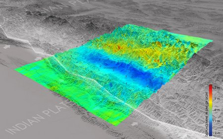 Nepal earthquake displacement node full image 2