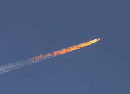 Turkey-shoots-down-Russian-bomber-jet