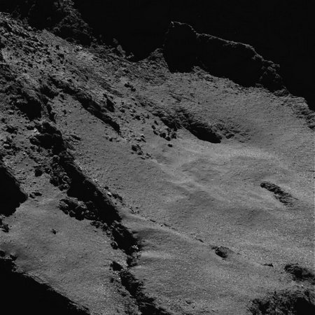 Close-up view of the comet node full image 2