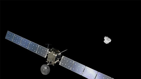 Rosetta approaching comet node full image 2