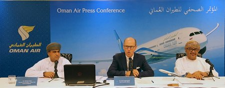 OmanAirPress Conference